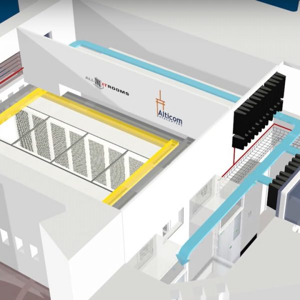 Direct Free Air Cooling: één van de voordelen van de ViaData Toren