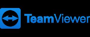 Klik op het logo om TeamViewer te starten
