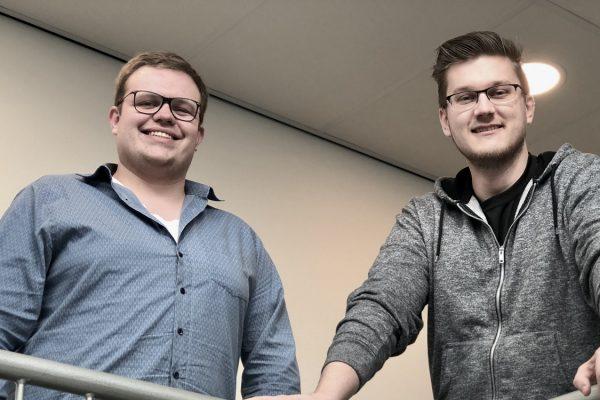 Nieuwe collega's Jordy en Patrick | ViaData nieuws